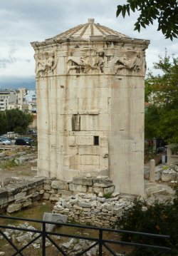 tower of winds athens